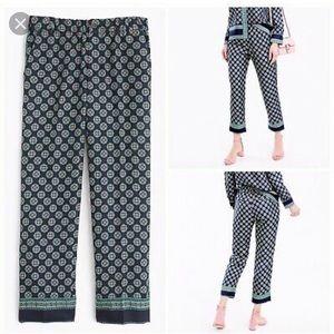 J Crew silk pants